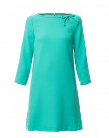 Honey Mint Green Wool Crepe Dress