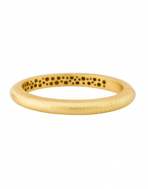 Catalina Gold Hinge Bangle Bracelet