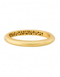Catalina Gold Hinge Bangle Bracelet