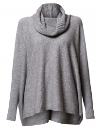 Light Grey Wool Cashmere Sweater