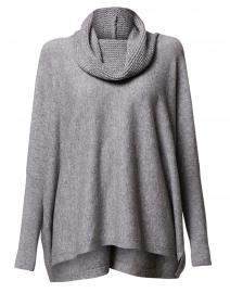 Light Grey Wool Cashmere Sweater