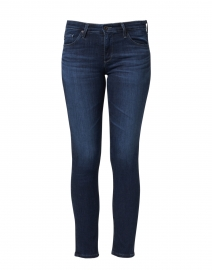 Prima Dark Blue Cigarette Ankle Jean