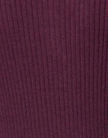 Blue - Bordeaux Ribbed Cotton Henley Top