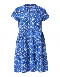 Feloi Blue Floral Printed Cotton Dress