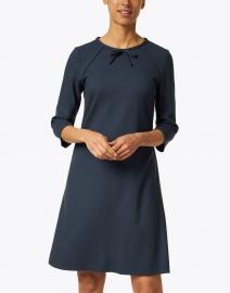 Jane - Mirabelle Iron Grey Wool Crepe Dress