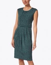 Weekend Max Mara - Uvetta Green Rosebud Print Jersey Dress