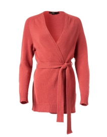 Pink Wool and Cashmere Cardigan