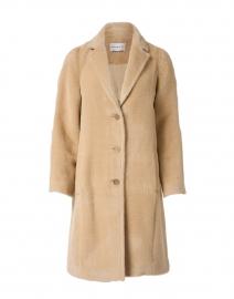 Honey Alpaca Wool Coat