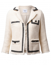 Cellia Ecru Tweed Jacket