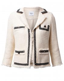 Cellia Ecru Tweed Jacket