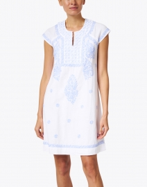 Roller Rabbit - Faith White Embroidered Cotton Dress