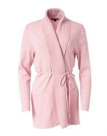 Gloss Pink Cotton Cardigan