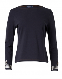 Leman Navy Cotton Top