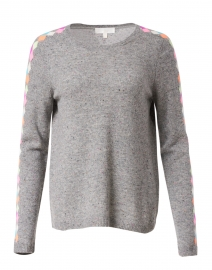 Fully Prepped Grey Cashmere Sweater
