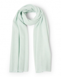Bright Mint Cashmere Mini Travel Wrap