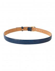 W. Kleinberg - Pacific Blue Ostrich Belt