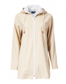 Ste Emma Beige Long Raincoat