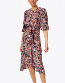 Shoshanna - Santana Pink Multi Floral Print Dress