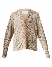 Millie Animal Print Wool Cashmere Sweater