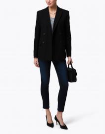 Weekend Max Mara - Grolla Black Cotton Jersey Blazer