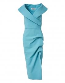 Cerulean Stretch Jersey Dress