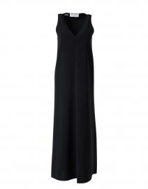 Disara Black Midi Dress