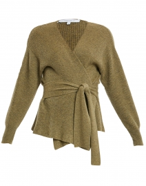Juliette Olive Green Knit Cardigan