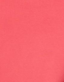 E.L.I. - Salmon Pima Cotton Ruched Sleeve Tee