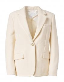 Juvah White Single Button Blazer
