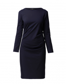 Sesia Navy Jersey Dress