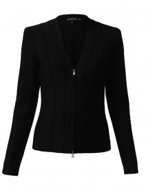 Black Ottoman Stitch Jacket