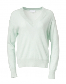 Bright Mint Cashmere Sweater