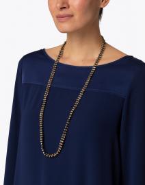Megan Park - Esha Beaded Woven Necklace