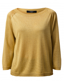 Milva Gold Metallic Sweater