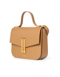 DeMellier - Vancouver Deep Toffee Leather Crossbody Bag