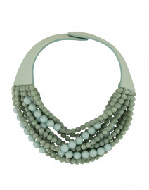 Marcella Sage Beaded Necklace