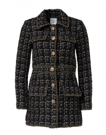 Marline Black Tweed Jacket