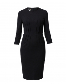 Charcoal Jersey Dress