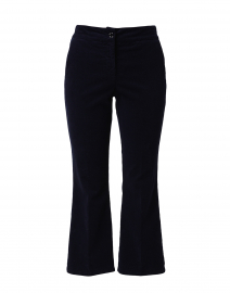 Navy Corduroy Stretch Cotton Pants