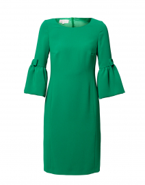 Emerald Green Crepe Dress