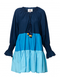 Bella Blue Cotton Dress