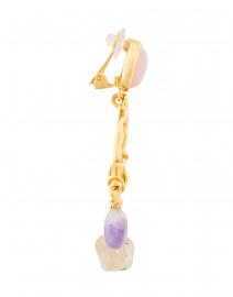 Oscar de la Renta - Multicolor Drop Earrings