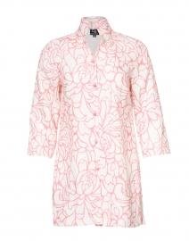 Rita Pink Magnolia Linen Jacket