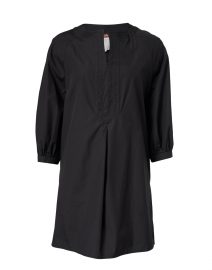 Oriana Black Cotton Tunic