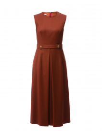 Pietra Rust Midi Dress