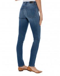 Cambio - Parla Medium Wash Blue Stretch Denim Jean