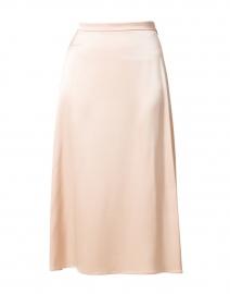 Sandy Beige Midi Skirt