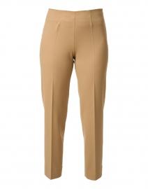 Monia Camel Gabardine Trousers