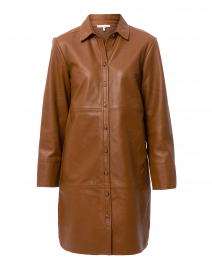 Kathleen Cognac Leather Jacket