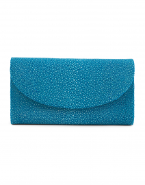 Baby Grande Ocean Blue Stingray Clutch